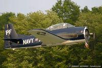 N555PF @ KFWN - North American T-28B Trojan  C/N 138265, N555PF