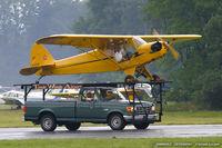 N6925H @ KFWN - Piper J3C-65 Cub  C/N 20158 - Roger Lehnert, N6925H
