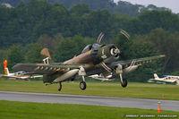 N959AD @ KFWN - Douglas AD-4NA (A-1D) Skyraider  C/N 7759, N959AD