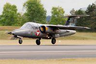 1125 @ LFSI - Saab 105OE, Landing rwy 29, St Dizier-Robinson Air Base 113 (LFSI) Open day 2017 - by Yves-Q