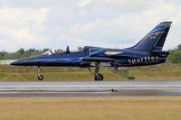 LX-STN @ LFSI - Aero L-39C Albatros, Sparflex french team, Landing rwy 29, St Dizier-Robinson Air Base 113 (LFSI) Open day 2017 - by Yves-Q