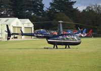 G-OHLI @ EGLD - Robinson R44 Clipper II at Denham. - by moxy