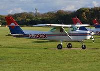 G-BNSN @ EGLD - Cessna 152 at Denham. Ex N94738 - by moxy