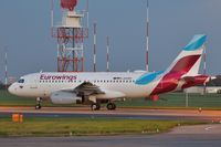 D-AGWD @ EGSH - Removed from spray shop with Eurowings colour scheme. - by keithnewsome