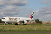 A6-EBJ @ LMML - B777 A6-EBJ Emirates Airlines - by Raymond Zammit