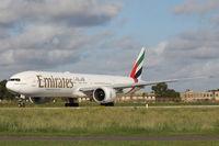 A6-EBJ @ LMML - B777 A6-EBJ Emirates Airlines - by Raymond Zammit
