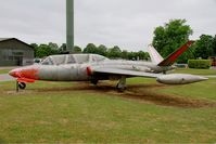 46 @ LFSI - Fouga CM-170 Magister, Preserved at St Dizier-Robinson Air Base 113 (LFSI) - by Yves-Q