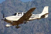 N147VC @ LFKC - Landing