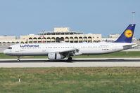 D-AISD @ LMML - A321 D-AISD Lufthansa - by Raymond Zammit