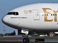 A6-ECM @ LPPT - Emirates EK192 departure and take off runway 03 to Dubai - by JC Ravon - FRENCHSKY