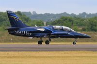 LX-STN @ LFSI - Aero L-39C Albatros, Sparflex french team, Taxiing to holding point rwy 29, St Dizier-Robinson Air Base 113 (LFSI) Open day 2017 - by Yves-Q
