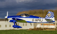 G-NPKJ @ EGBR - Departure to the west - by glider