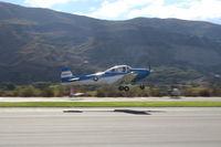 N8867H @ SZP - 1947 North American NAVION, Continental IO-520 285 Hp upgrade, takeoff climb Rwy 22, Young Eagles flight - by Doug Robertson
