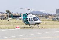 VH-BHF @ YSWG - Heli Surveys (VH-BHF) Bell 206L-1 Long Ranger at Wagga Wagga Airport - by YSWG-photography