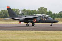 E171 @ LFSI - Dassault-Dornier Alpha Jet E, Taxiing to holding point rwy 29, St Dizier-Robinson Air Base 113 (LFSI) Open day 2017 - by Yves-Q
