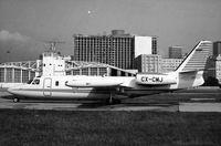 CX-CMJ @ SBRJ - En el Aeropuerto Santos Dumont (Rio de Janeiro)  abril 1981 (Colección Aeronaves CX) - by colección aeronaves CX
