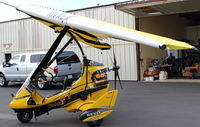 N899HT @ SZP - 2016 Evolution Aircraft REVO RIVAL X weight-shift control LSA, Rotax 912ULS 100 Hp pusher. Two-place tandem seats. - by Doug Robertson