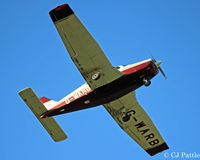 G-WARB @ EGBJ - Overhead at EGBJ - by Clive Pattle
