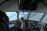 N1954Z @ CXO - Flying over Lake Conroe, Texas preparing for a water landing!