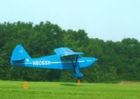 N8055K @ IA27 - Flying around Antique Airfield - by Floyd Taber