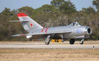 N217SH @ TIX - Mig-17F