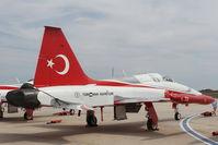 71-3072 @ LMML - Northrop NF-5B 71-3072/6 Turkish Stars Aerobatic Team