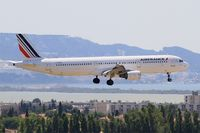 F-GTAX @ LFML - Airbus A321-212, On final Rwy 31R, Marseille-Provence Airport (LFML-MRS) - by Yves-Q