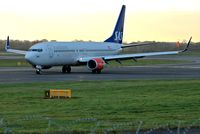 LN-RRG @ EGCC - taxing in after landing. - by andysantini photos