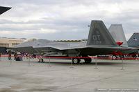 00-4014 @ LSV - F-22 Raptor 00-4014 OT from 422nd TES Green Bats 53rd WG Nellis AFB, NV