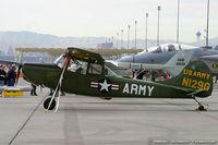 N129G @ LSV - Cessna L-19 Bird Dog  C/N 24714, N129G