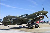 N1941P @ KNTU - Curtiss P-40E Warhawk  C/N 1025, N1941P