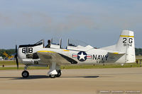 N194RR @ KNTU - North American T-28B Trojan  C/N 138194, NX194RR