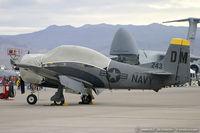 N243DM @ LSV - North American T-28C Trojan  C/N 140662, NX243DM