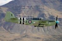 N518WB @ LSV - Fairey Firefly AS.6  C/N F.8646, NX518WB