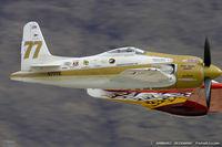 N777L @ LSV - Grumman F8F-2 Bearcat  C/N 122629, N777L