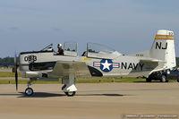 N240CG @ KNTU - North American T-28C Trojan  C/N 146240, N240CG