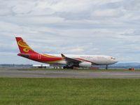 B-5963 @ NZAA - taking off - by magnaman