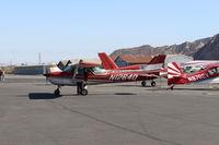 N1264Q @ SZP - 1971 Cessna 150L, Continental O-200 100 Hp, on transient ramp - by Doug Robertson