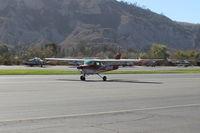 N1264Q @ SZP - 1971 Cessna 150L, Continental O-200 100 Hp, landing roll Rwy 04 - by Doug Robertson