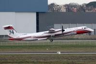 F-ZBMD @ LFBO - Take off