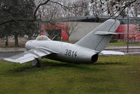 3814 @ LFBO - Preserved at Sup'Aero school Toulouse (ex Czech Air Force)