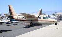 N234CB @ CNO - Aero Commander 680