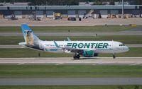 N236FR @ MCO - Frontier