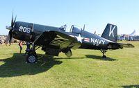 N240CF @ OSH - F4U-4 Corsair