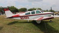 N249A @ LAL - Beech F33C