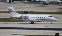 N252DH @ FLL - Challenger 604