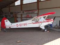 D-EFBU @ EDLI - at Bielefeld airport