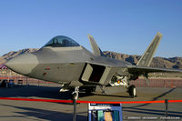 00-4014 @ KLVS - F-22 Raptor 00-4014 OT from 422nd TES Green Bats 53rd WG Nellis AFB, NV