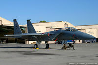 80-0052 @ KLVS - F-15C Eagle 80-0052 OT from 422nd TES Green Bats 57th WG Nellis AFB, NV