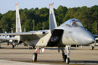 83-0048 @ KNTU - F-15D Eagle 83-0048 FF from 71st FS Iromen 1st FW Langley AFB, VA